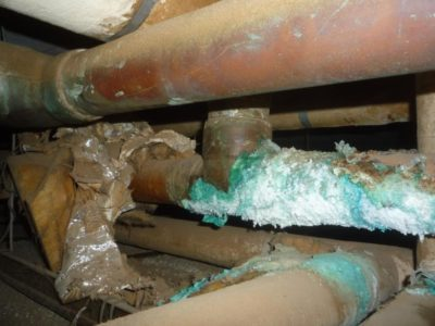 Domestic Water Supply Corrosion Conditions